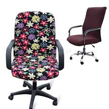 computer chair covers 2pcs lot office computer chair cover side zipper design arm chair
