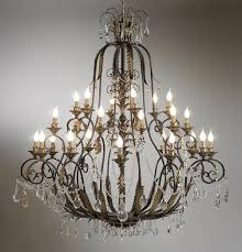 Metal Chandelier Brilliant Iron And Crystal Chandelier Design12141500 Wrought Iron