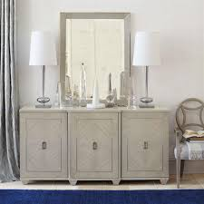 Hollywood Regency Dining Room by Gretta Grey Hollywood Regency Polished Inlay Buffet Kathy Kuo Home