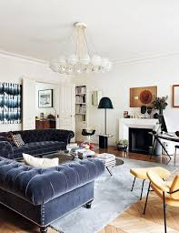 decorating parisian style chic modern apartment by sandra benhamou view in gallery urban chic living room of the trendy paris apartment