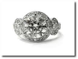 diamond engagement ring art deco antique 2 45ctw ebay seller