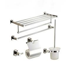 Bathroom Collections Sets Bathroom Accessory Sets Stainless Steel Modern Bathroom