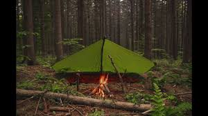 Alps Mountaineering Tri Awning First Time Solo Camping And Using A Tarp Shelter San Gabriel