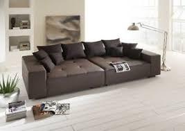 italienisches sofa big sofa leder federkern italienisches echtleder mega