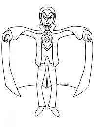 simple vampire coloring pages coloring pages 255927 dracula clip