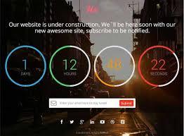 70 website under maintenance templates free u0026 premium techclient