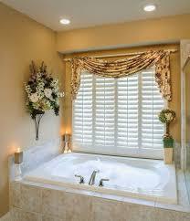 curtain ideas for bathroom small bathroom window curtains
