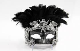 venetian mask men unique gold feather masquerade masks colombina venetian mask men