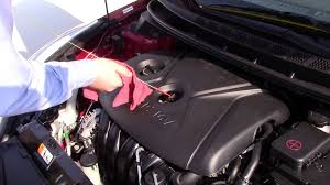 tulsa hyundai shows how to check fluids in a 2015 hyundai elantra