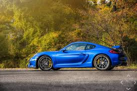cayman porsche gt4 photo of the day stunning blue porsche cayman gt4 gtspirit