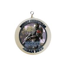 personalized halo christmas ornament custom gift 4