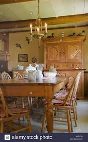 Dining Room Dresser by Antique Table Chairs And Dresser In Dining Room Of 1741 Old House