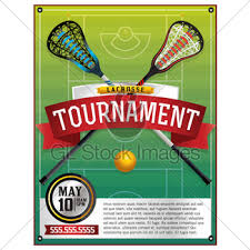 lacrosse event flyer template gl stock images