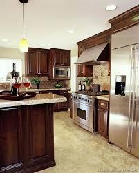 Dark Cherry Kitchen Cabinets Cherry Kitchen Cabinets With Dark Wood Floors Cherry Cabinetscream