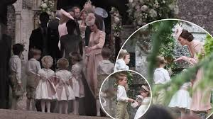 Pippa Wedding Pippa Wedding Is This Why Prince George Cried Youtube