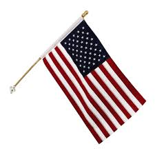 American Flag Rugs American Flag With 5 U0027 Wooden Pole Christmas Tree Shops Andthat