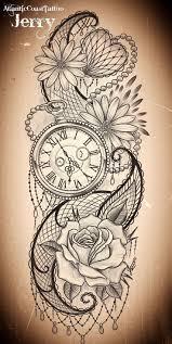 date of birth tattoo best 25 vintage clock tattoos ideas on pinterest pocket watch
