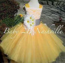 daisy dress yellow dress flower dress lace dress tulle dress
