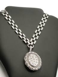 antique silver necklace chains images Antique silver chains the uk 39 s premier antiques portal online jpg
