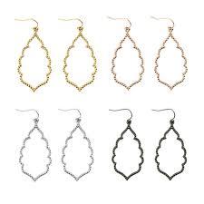 Rose Gold Chandelier Earrings 2017 Newest Designer Inspired Women U0027s Brand Earrings Gold Filigree