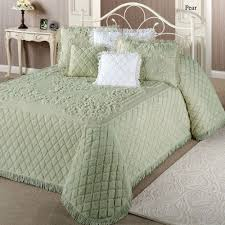 lilian cotton chenille bedspread bedding