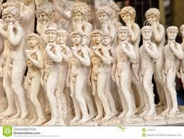 alabaster michelangelo u0027s david stock image image 11642471