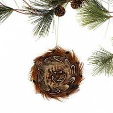 ornaments made with pheasant feathers beautiful idea