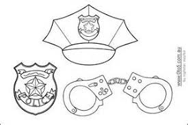 mailman hat coloring page police hat template colouring bell rehwoldt com