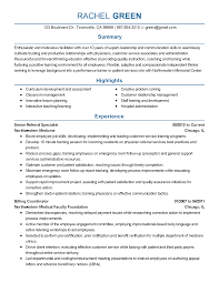 Facilitator Resume Cover Letter For A New Job Examples Elementary Essay Questions