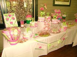 Bridal Shower Buffet by Custom Wedding Decor Gallery Decoratively Speaking Events
