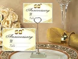 50th Decoration Ideas Table Decorations For 50th Wedding Anniversary Image Of