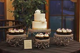 Wedding Cake Display Winter Wedding Cake Display Winter Wedding Cupcake Series Part