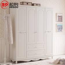 and buy furniture bedroom wardrobe white wooden wardrobe pastoral