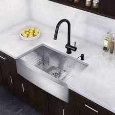 black faucet with stainless steel sink black stainless steel sink faucet sets for less overstock com