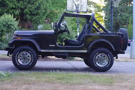 jeep chrome 1985 jeep cj 7 on original chrome wheels u0027the can opener u0027 1985