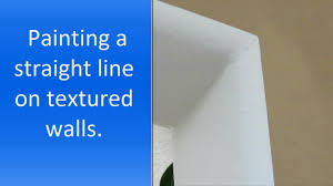 painting a wall how to paint a straight line on a wall youtube