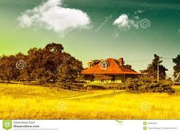 country farm house stock photo image 40392438