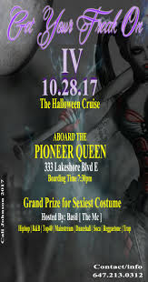 get your freak on part 4 halloween costume boat party enclosed boat