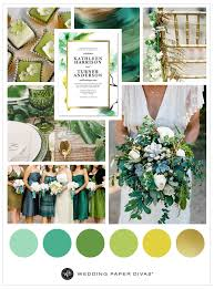 green and gold wedding color inspiration shutterfly