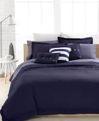 Lacoste Bathroom Set Lacoste Bedding Solid Peacoat Brushed Twill Comforter And Duvet