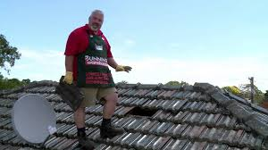 Concrete Tile Roof Repair How To Remove Roof Tiles Diy At Bunnings Youtube