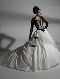 Black And White Wedding Dress My Blog 201305