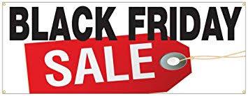 amazon black friday sale ends amazon com black friday sale special huge discount sale sign