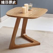 small sofa side table european solid wood coffee table sofa side a few corner white oak