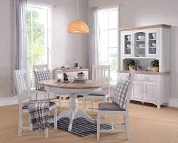 shabby chic round table gray painted dining room table home design health support us