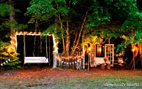 Outdoor Twinkle Lights by Unique Ways To Use Doors And Windows In An Outdoor Wedding