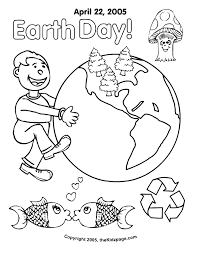 coloring pages earth day coloring home