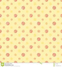 yellow warm abstract polka dot fabric seamless pattern stock