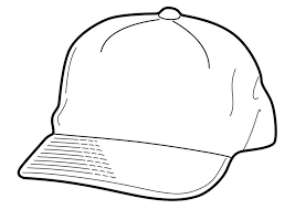 Coloring Page Cap Img 18956 In Style Kids Drawing And Coloring Page Of A Hat