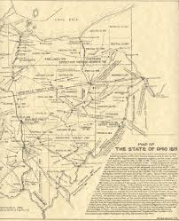 Map Of Northeast Ohio by Map Of Ohio 1815